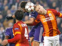 Anderlecht - Galatasaray Foto Galerisi