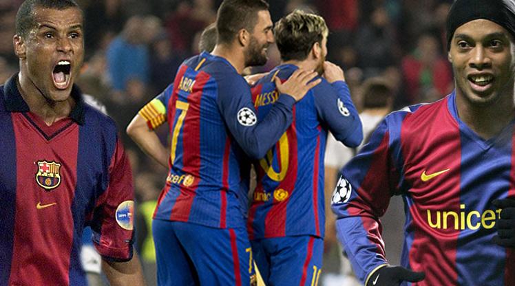 Barcelona'da forma giyen Milli yıldızımız Arda Turan, attığı 3 gol ve yaptığı 1 asistle geceye damga vuran isim oldu.