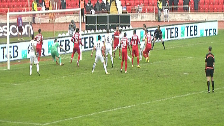 Balıkesirspor Torku Konyaspor golleri