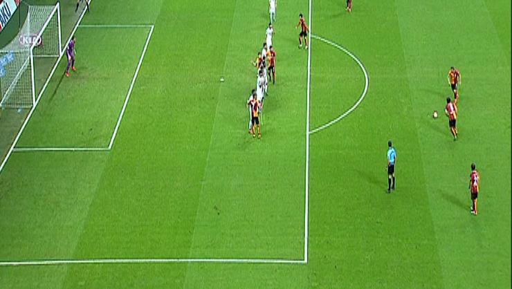 Galatasaray Eskişehirspor golleri