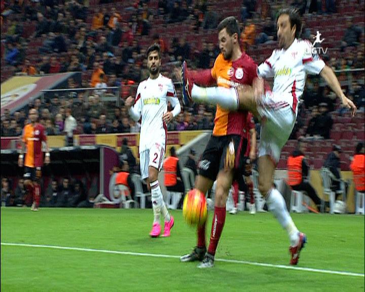 Galatasaray Medicana Sivasspor golleri