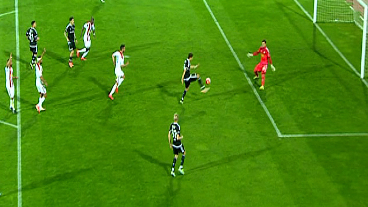 Medicana Sivasspor Beşiktaş golleri
