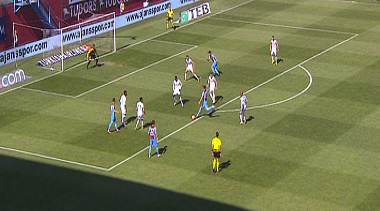 Trabzonspor Çaykur Rizespor golleri