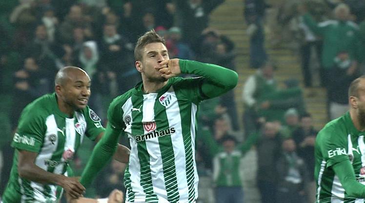 Bursaspor Çaykur Rizespor golleri