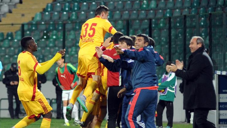Bursaspor Kayserispor maç özeti