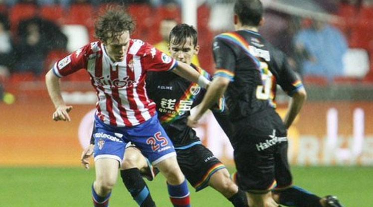 Sporting Gijon Rayo Vallecano maç özeti