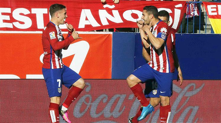 Atletico Madrid Rayo Vallecano maç özeti