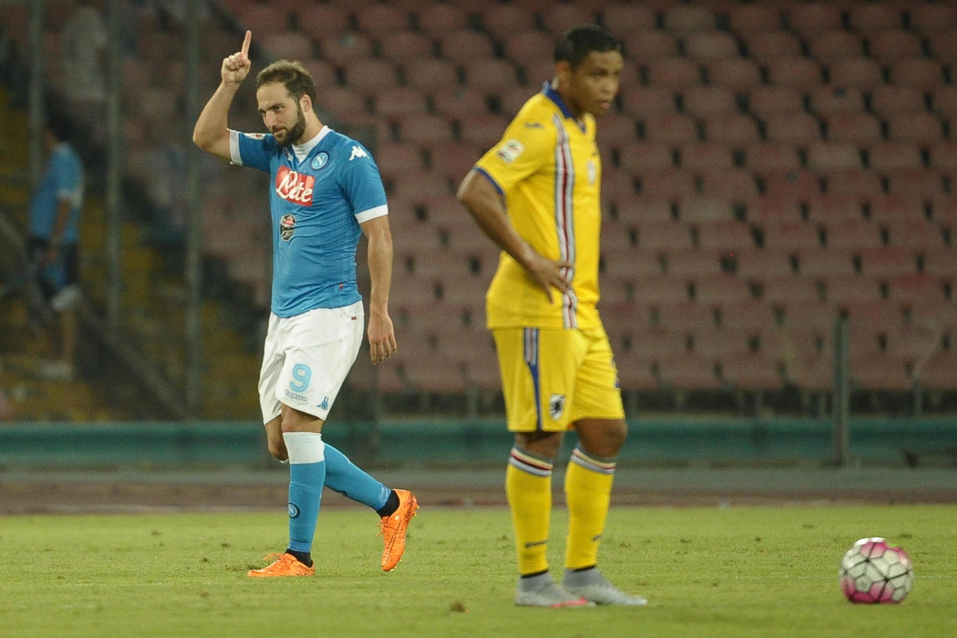 Napoli Sampdoria maç özeti