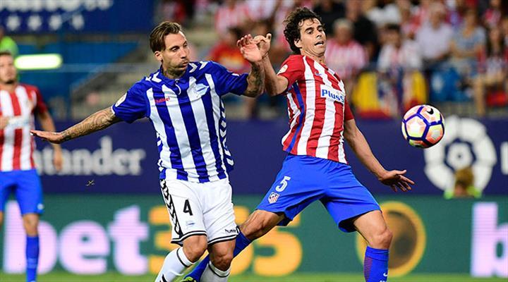 Atletico Madrid Deportivo Alaves maç özeti