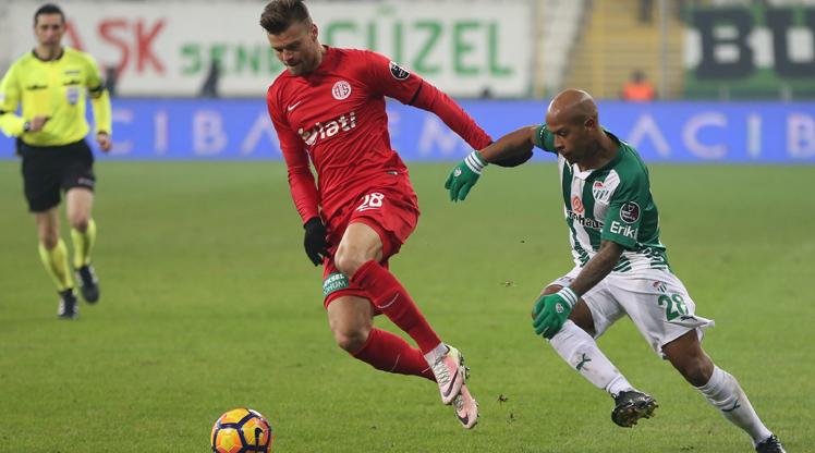 Bursaspor Antalyaspor maç özeti