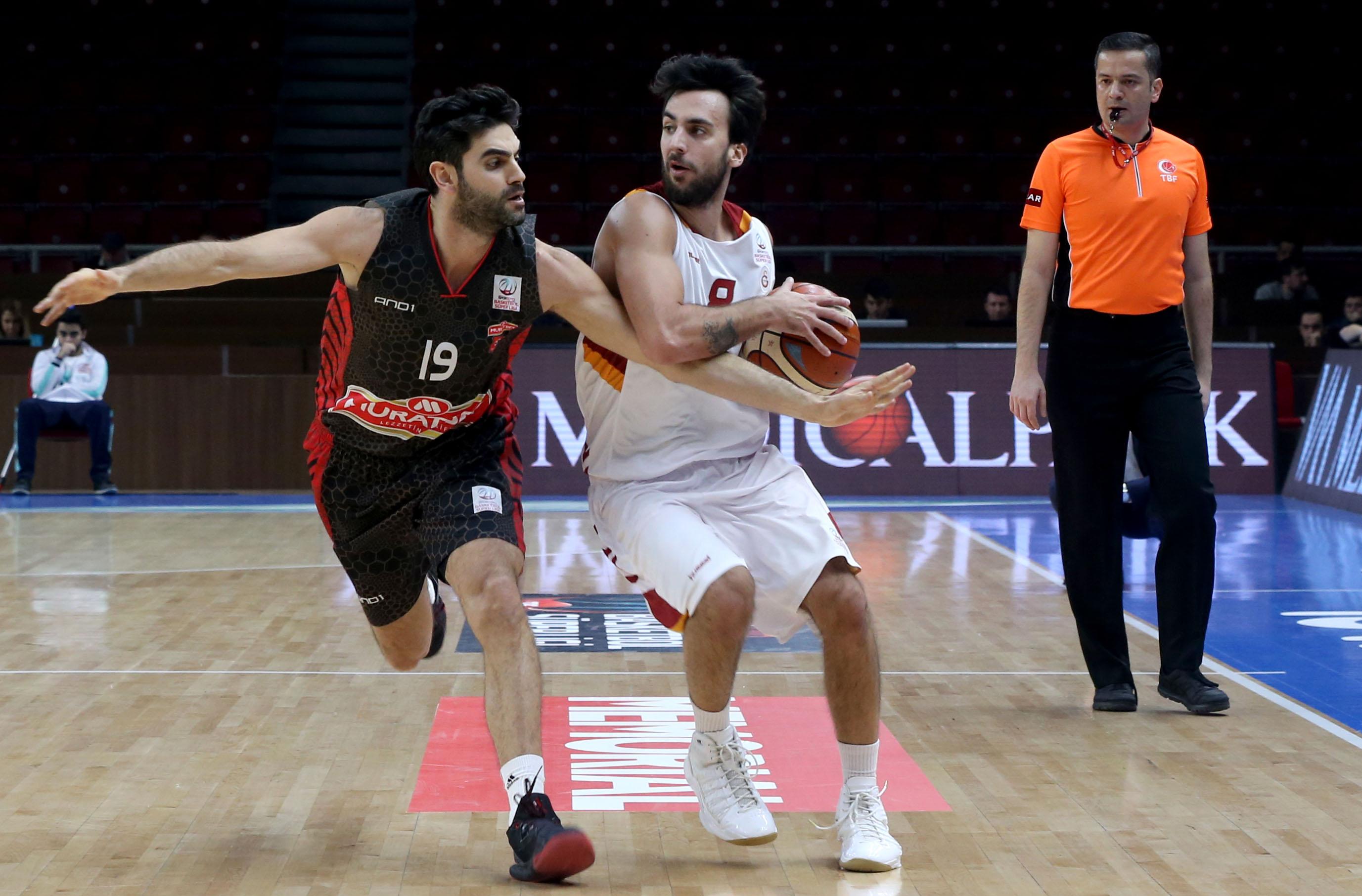Galatasaray Odeabank Muratbey Uşak maç özeti