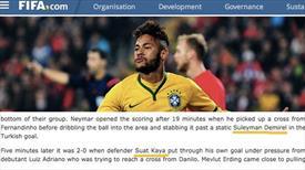 FIFA'dan tarihi hata