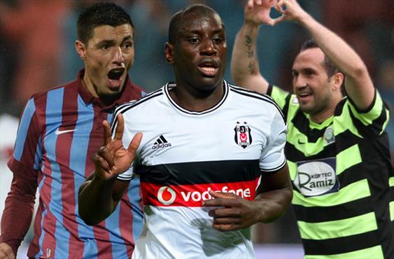 Süper Lig'i kasıp kavuran üçlünün golleri burada