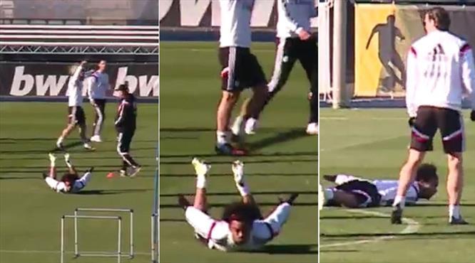 Marcelo idmanda fena coştu!..