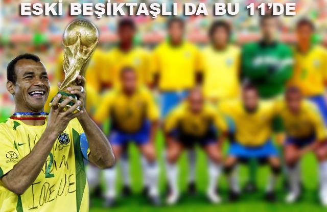 Cafu'ya göre Brezilya'nın en iyi 11'i
