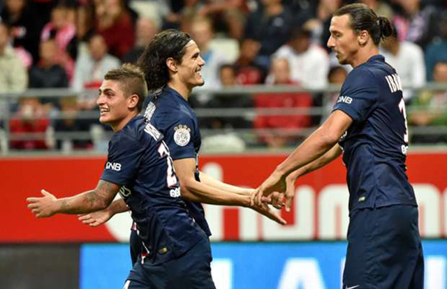 Zlatan: 2 - Reims: 2