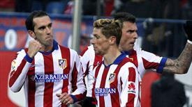 Atletico Madrid çok rahat