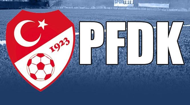 PFDK'dan Beşiktaş ve F.Bahçe'ye ceza