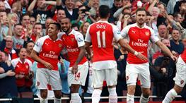 Arsenal 'Şeytan'ı çarptı! Mesut Özil geri döndü (ÖZET)
