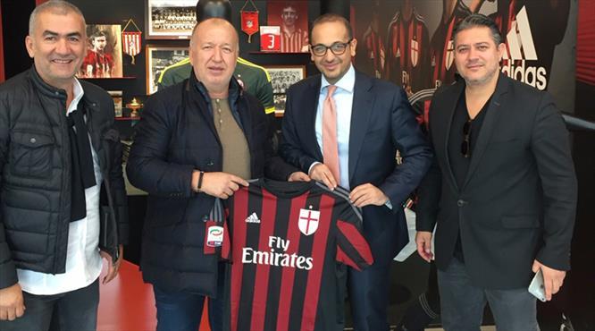 Antalyaspor ve Milan kardeş kulüp oldu!