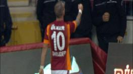 Ve Sneijder perdeyi kapattı: 3-1!