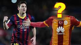 Messi'nin yanına sürpriz Galatasaraylı!