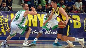 Fenerbahçe Ülker kolayı zor yaptı (Özet)