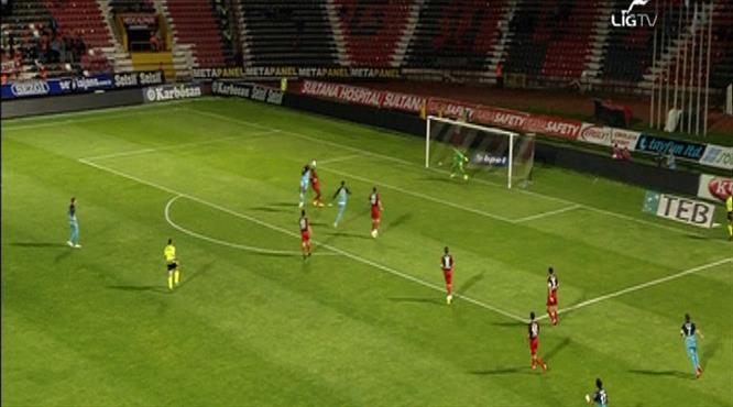 İşte Rizespor'un sayılmayan golü
