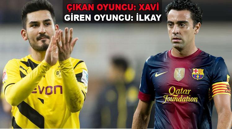 Barcelona'da oyuncu değişikliği!
