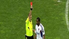 İşte kırmızı kart pozisyonu