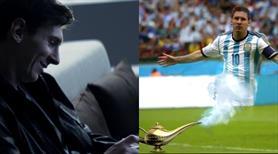 Bu videoya bayılacaksınız! Karşınızda sihirli Messi