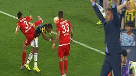 Pereira'yı çıldırtan pozisyon! Nani'ye penaltı var mı?