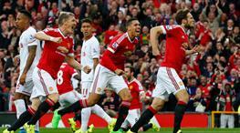 Futbol ziyafetinde zafer ManU'nun!.. (ÖZET)