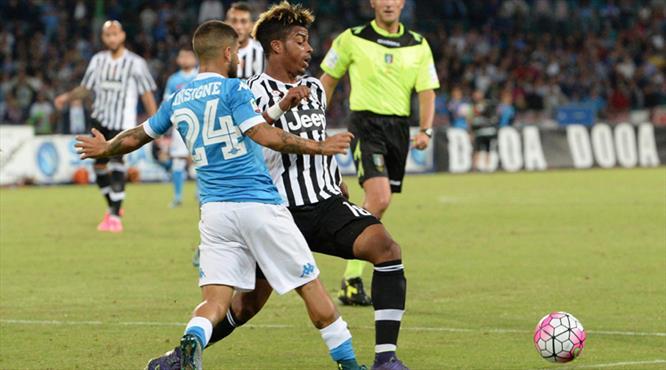 Juventus'a bir darbe de Napoli'den! (ÖZET)