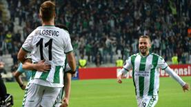 Konyaspor'dan Avrupa'da ilk gol geldi