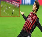 Bu çocuğun normal golü yok! Dev maça bu gol yakışır!