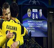 Devler Ligi'nde tarihi skor! Çılgın maç Dortmund'un...