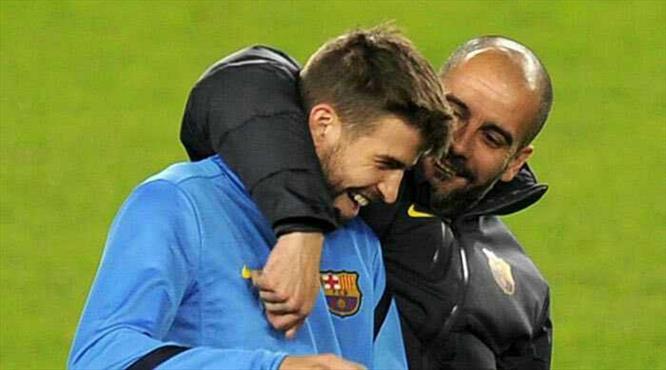 Guardiola ve Pique'ye ödül