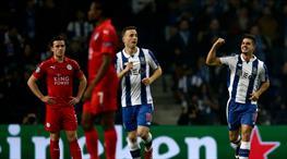 Porto'dan Leicester'a gol şov!