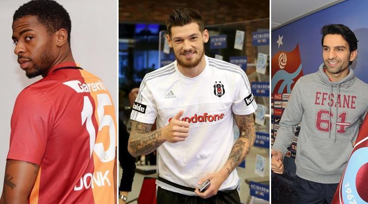 Süper Lig'de atılan tüm imzalar burada