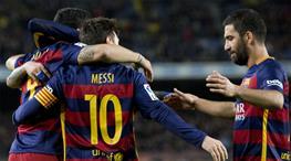 Barcelona: 7 - Valencia: 0 (ÖZET)