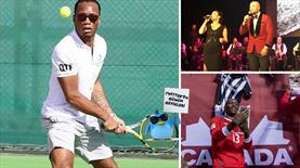 Didier Drogba'dan Novak Djokovic'e! ''Senin için geliyorum''