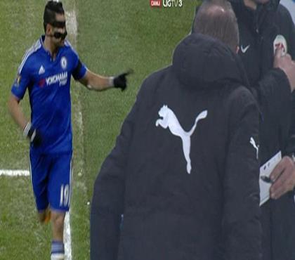 Diego Costa rakip hocayı hayata küstürdü!