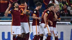 Roma, Fiorentina'yı gole boğdu (ÖZET)