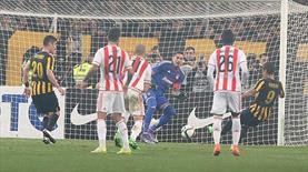Olympiakos - AEK finali ertelendi