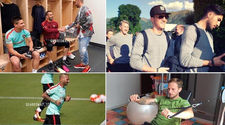 Gözler Euro 2016'da! Mesut, Rakitic, Quaresma ve diğerleri...