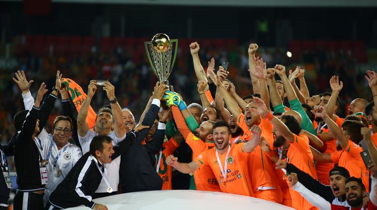 Süper Lig'e son bilet Multigroup Alanyaspor'un!