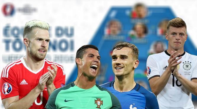 İşte Euro 2016'nın en iyi 11'i