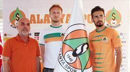 Alanyaspor'da çifte transfer