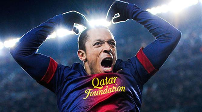 Barcelona'dan Adriano'ya veda klibi!